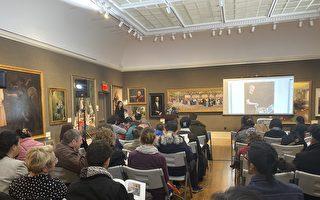 新唐人油画大赛作品曼哈顿拍卖 买家满意而归