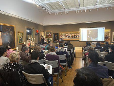 新唐人油畫大賽作品曼哈頓拍賣 買家滿意而歸