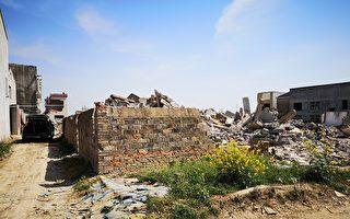 湖北以建高鐵為名強拆民房 賠償過低村民不滿