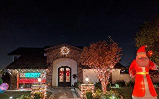 圣诞点灯 南加社区亮了