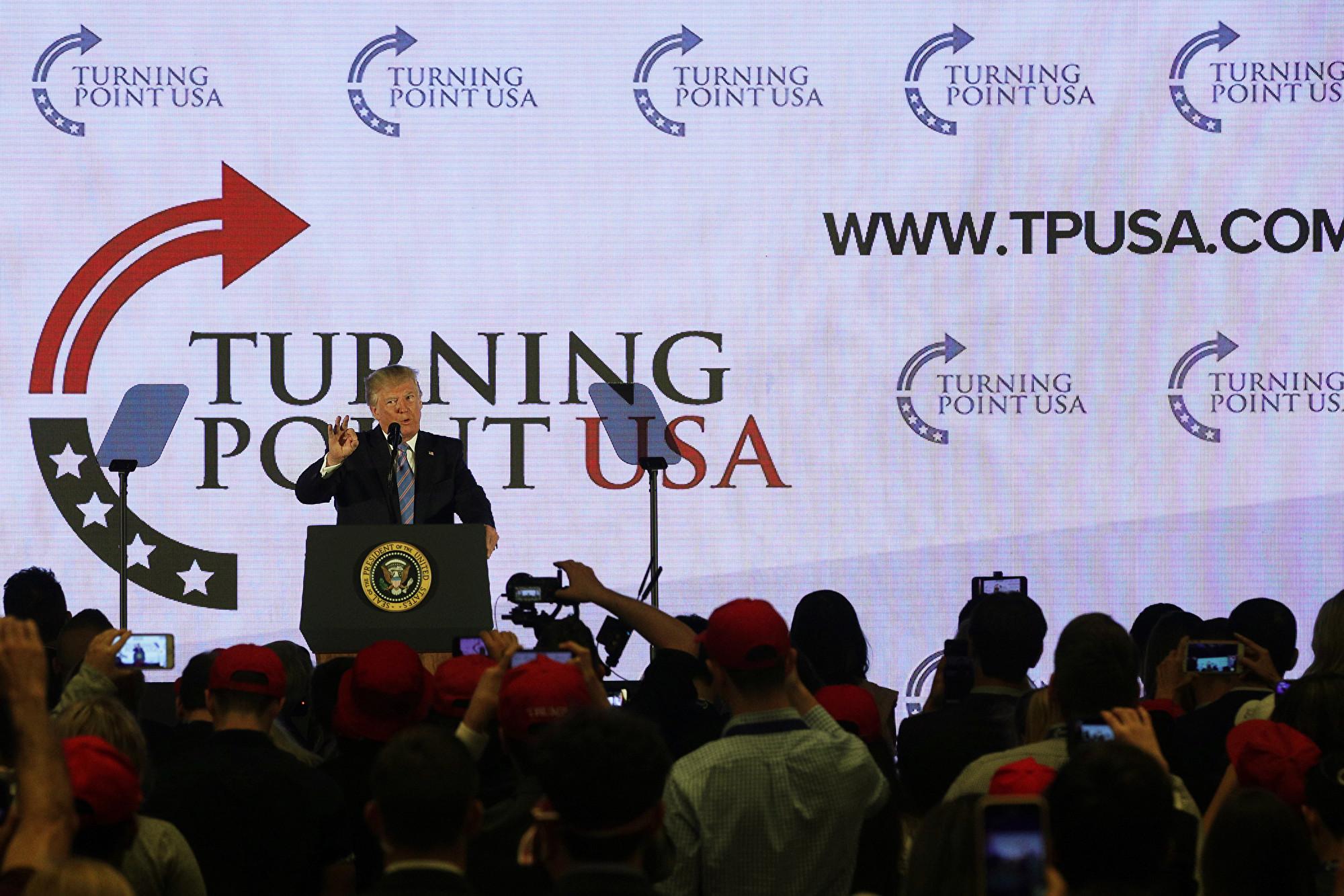 特朗普:美國永遠不會成為一個社會主義國家