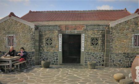二崁古厝有很多重新翻修整理過的老屋。