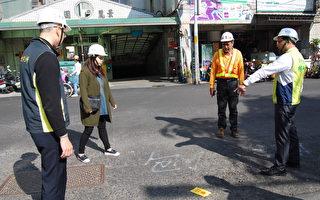 路见不平  彰化市长立即要求厂商重新施工