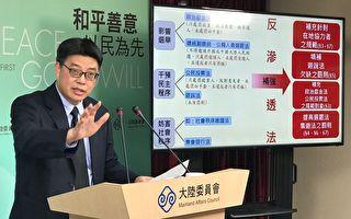 非故意、不知情者  台陆委会:反渗透法不罚
