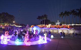 50萬顆LED燈 彰化大佛亮起來