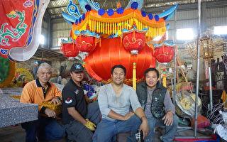 台灣花燈聞名海外 馬國寺廟再度跨國訂製
