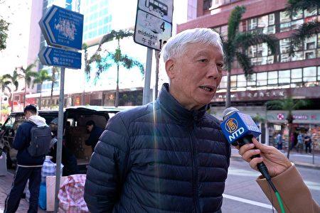 朱耀明牧師。(香港大紀元報社提供)