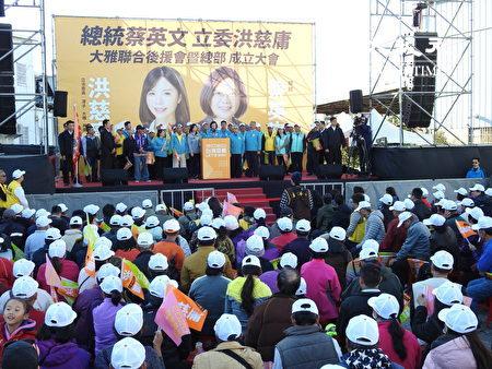 蔡英文希望大家对台湾的产业有信心,台湾会是下一个世代的领头羊。
