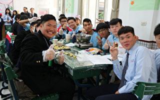 日本石山高校訪六和高中  體驗台灣文化嚐小吃
