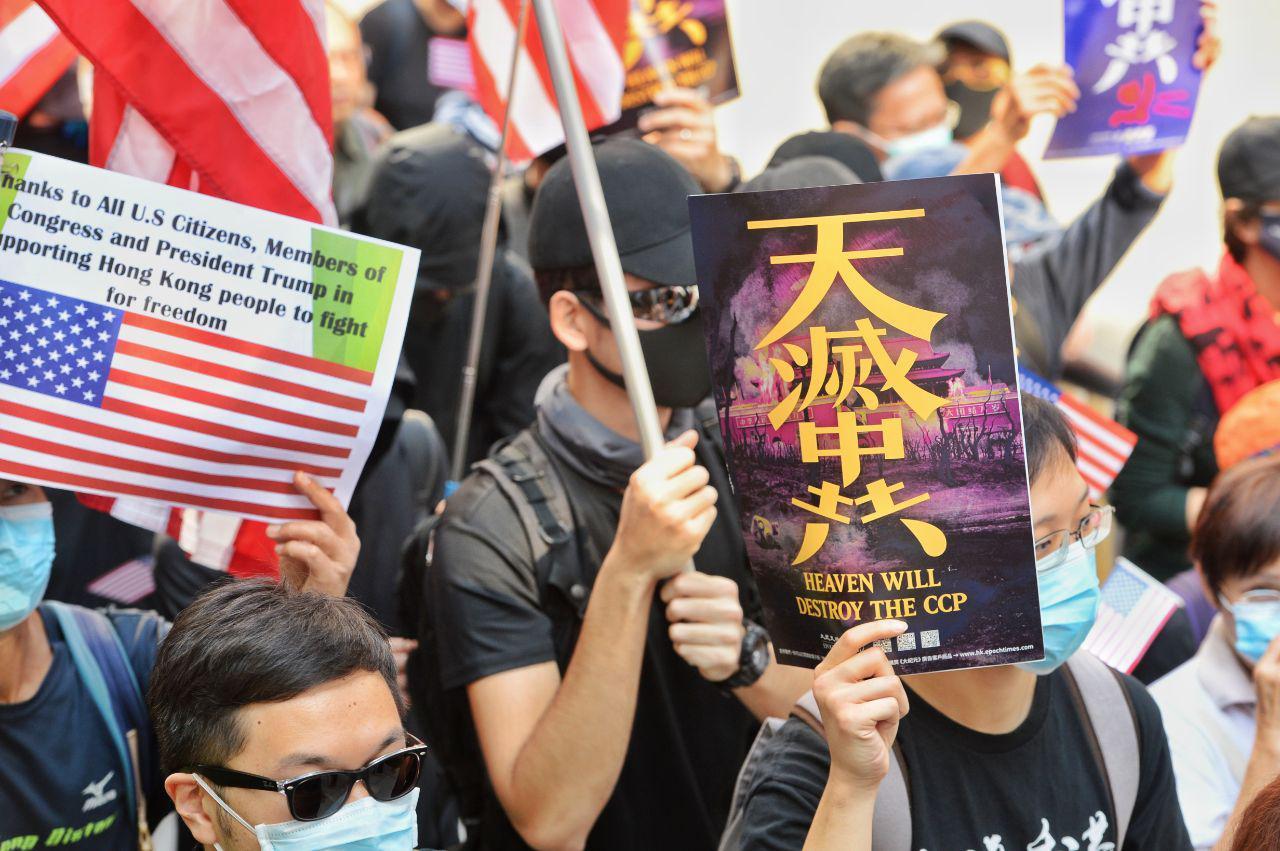 【12.3反暴政直播】港人反極權 中環和你Lunch