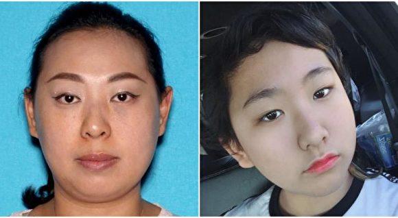 尔湾亚裔母女失踪 警方吁公众协助寻人