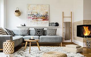 5個配色方案營造冬季家居布置溫馨感
