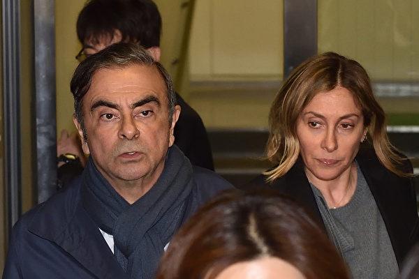 日产前董事戈恩妻子涉伪证 日方发逮捕令