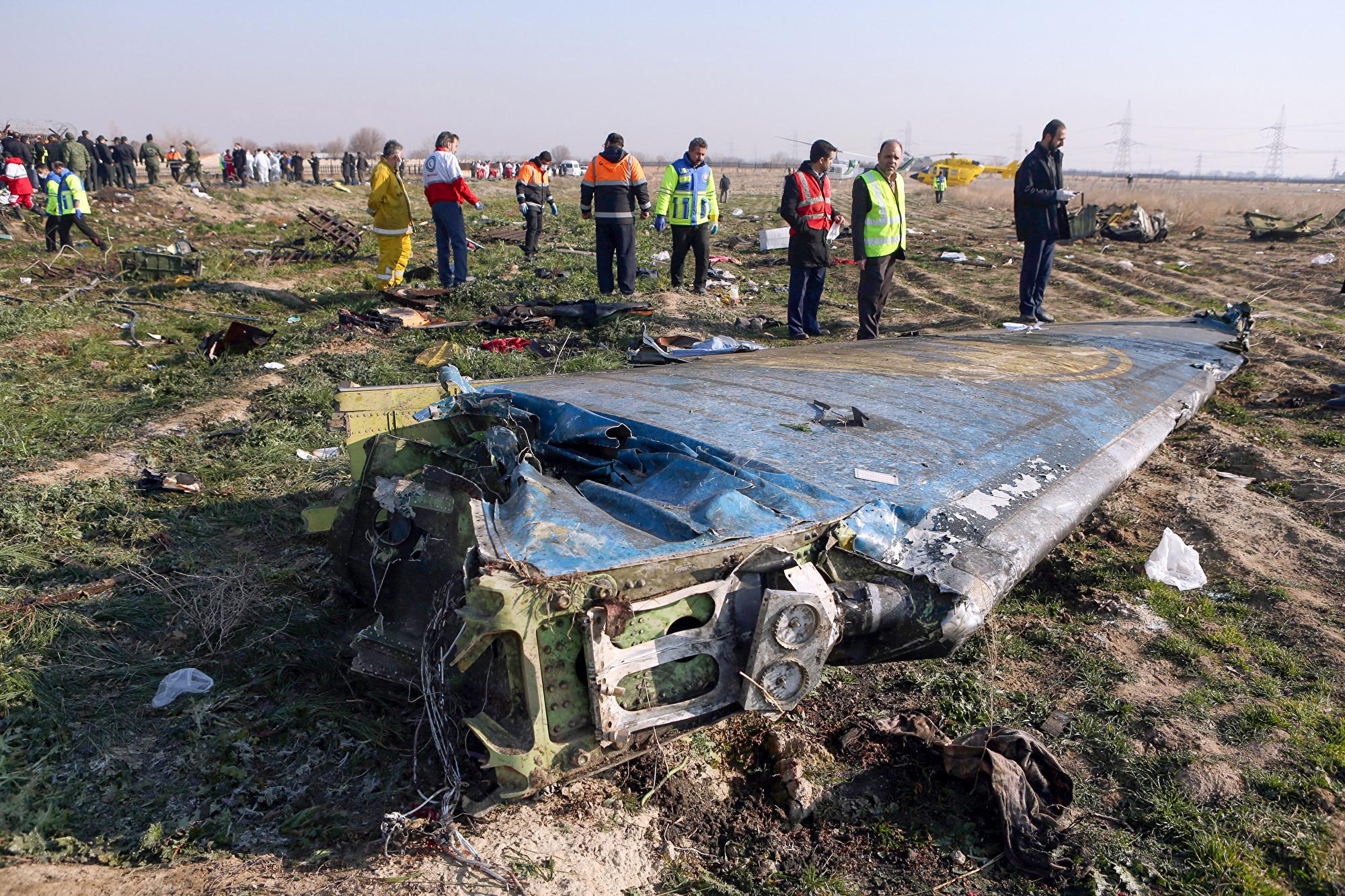 烏航墜機 美官員:或遭伊朗防空導彈誤擊