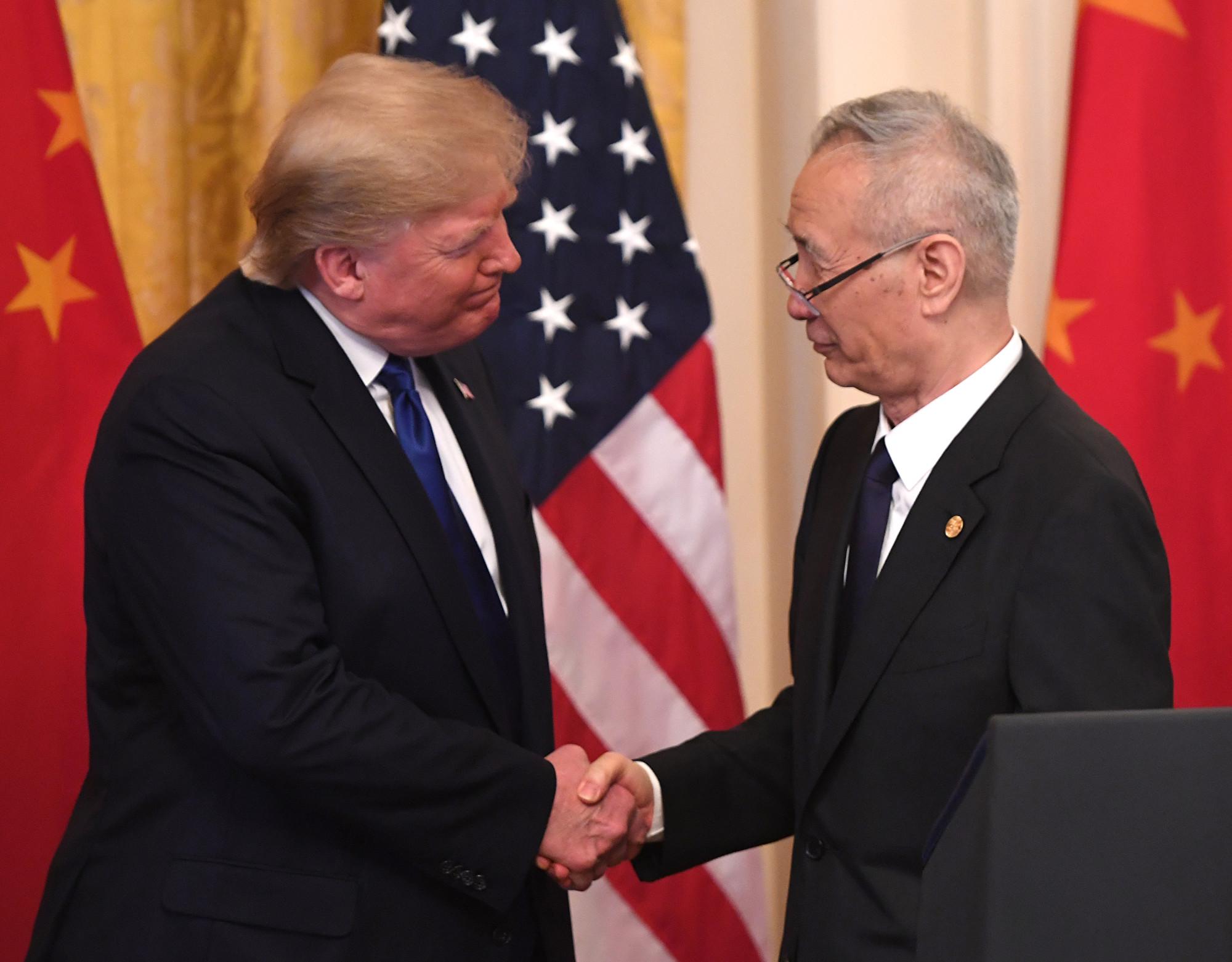 中美簽署第一階段協議 劉鶴講話摘要