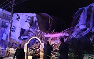 6.7级地震袭土耳其 至少18死500多人伤