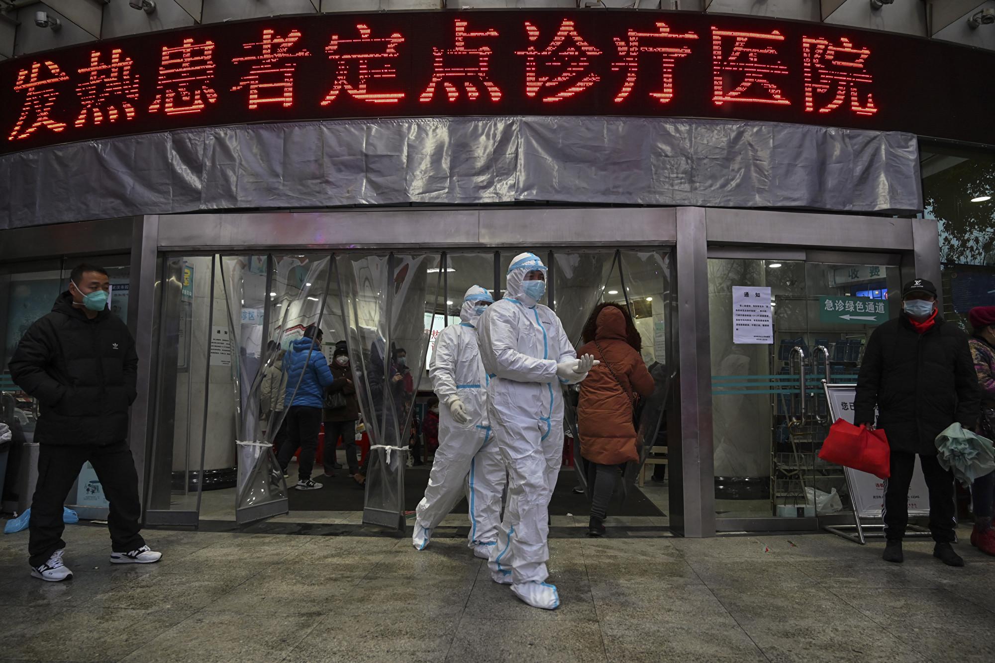鍾南山替中共站台 多個說法很快被證偽