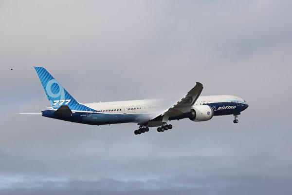 世界最大雙引擎客機波音777X首飛成功