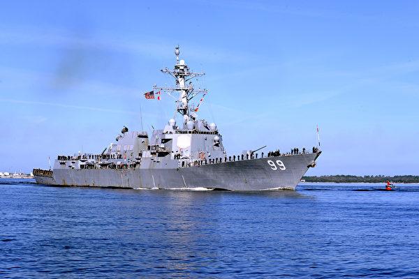 【视频】俄军舰在阿拉伯海上挑衅美驱逐舰