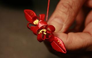 只因这个承诺 陈惠美为台湾保留了缠花技艺