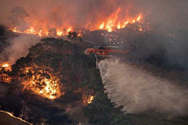大火肆虐四個月 墨爾本空污至「危險」地步