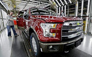 福特在加拿大召回近9萬輛皮卡