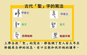 簡化漢字「聖」包藏什麼禍心?