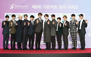 SEVENTEEN attends the 8th Gaon Chart K-Pop Awards