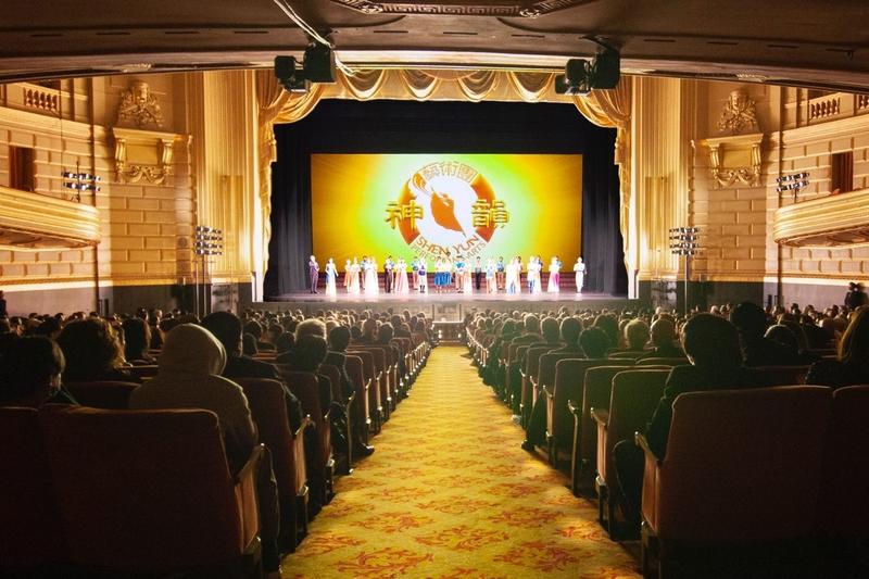 「為新的一年帶來希望」神韻三藩市首場爆滿