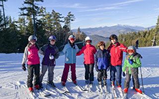 勒星顿中校圣诞滑雪 乐无穷