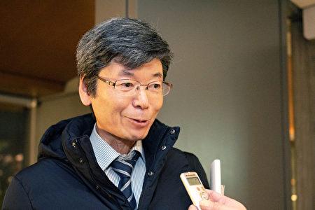 2020年1月3日晚間,藥劑師金田守正代觀看了神韻紐約藝術團在京都會館進行的第二場演出。(岡田美穗/大紀元)