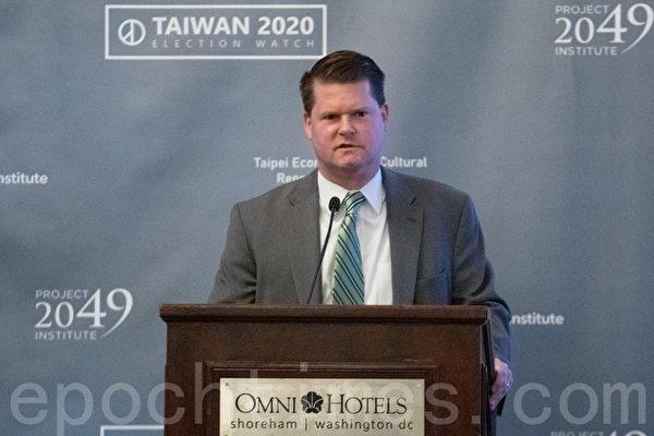 薛瑞福:北京對台政策失敗 國際力挺台灣
