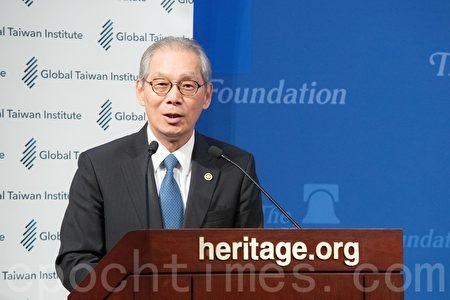 台灣駐美代表高碩泰表示,大選的結果表明民主在華人世界是行得通的。(林樂予/大紀元)