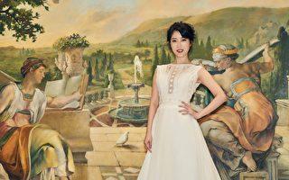 李娅莎穿婚纱发片 过年最怕被催婚