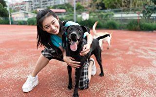 祈錦鈅年前訪動物收容所 與許莉潔當一日志工