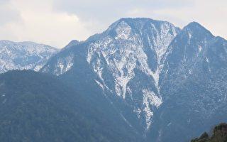 【視頻】玉山雪量創20年最大 群峰雪景迷人