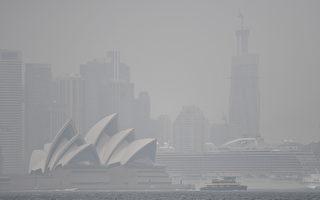 濃煙夜入悉尼盆地 新州首府再成「煙霧城」