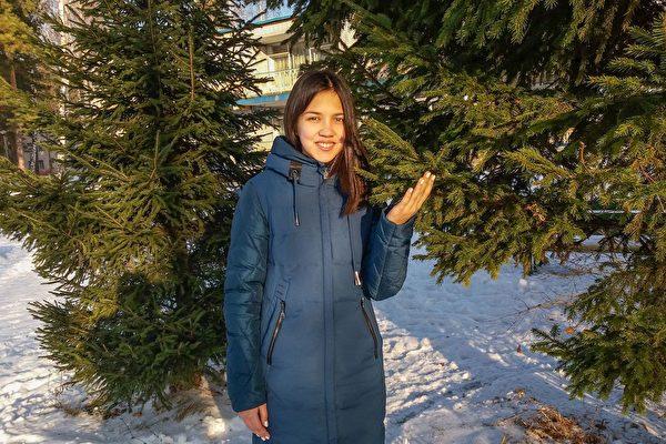 伊利沙伯·謝爾蓋耶娃(Elizaveta Sergeeva) 在卡馬河畔切爾尼市。(明慧網)