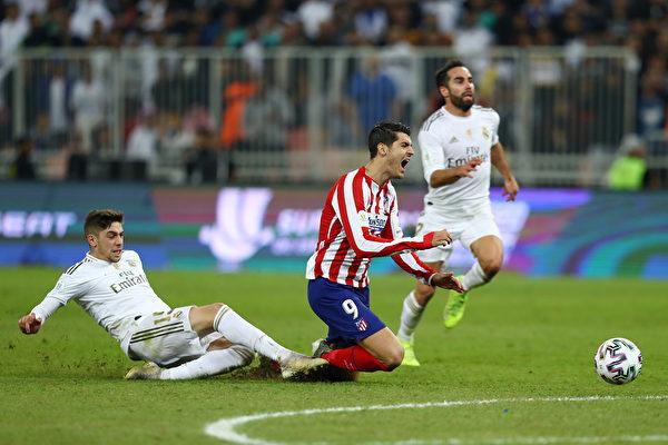 皇馬點球大戰擊敗馬競 奪得西班牙超級盃