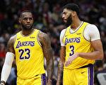 NBA湖人面對爭冠球隊戰績不佳 遭到質疑