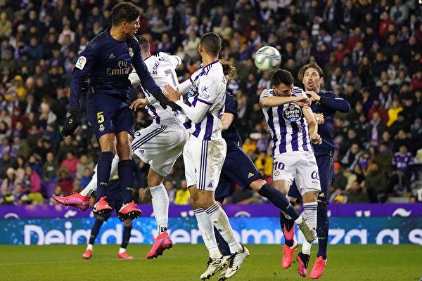 西甲第21輪,皇馬在客場1:0擊敗巴拉多利德