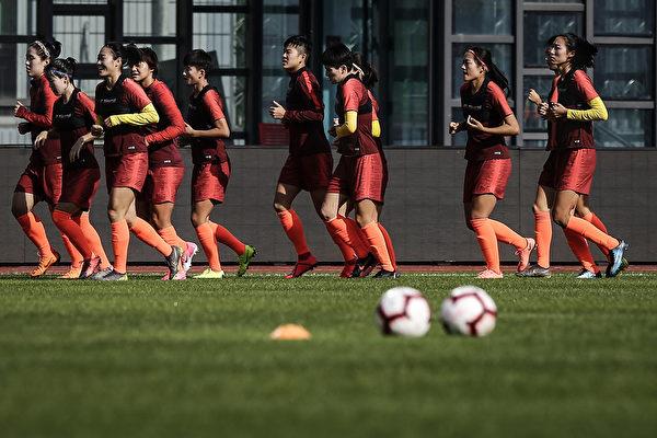 參加東京奧運預選賽 中國女足在澳洲被隔離