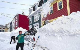 紐省降雪破紀錄 聯邦派軍隊救援