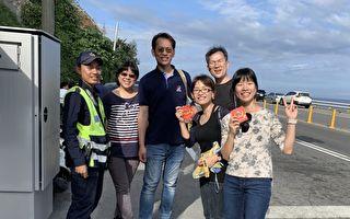 台東警察發紅包內附交通指南 民眾讚貼心