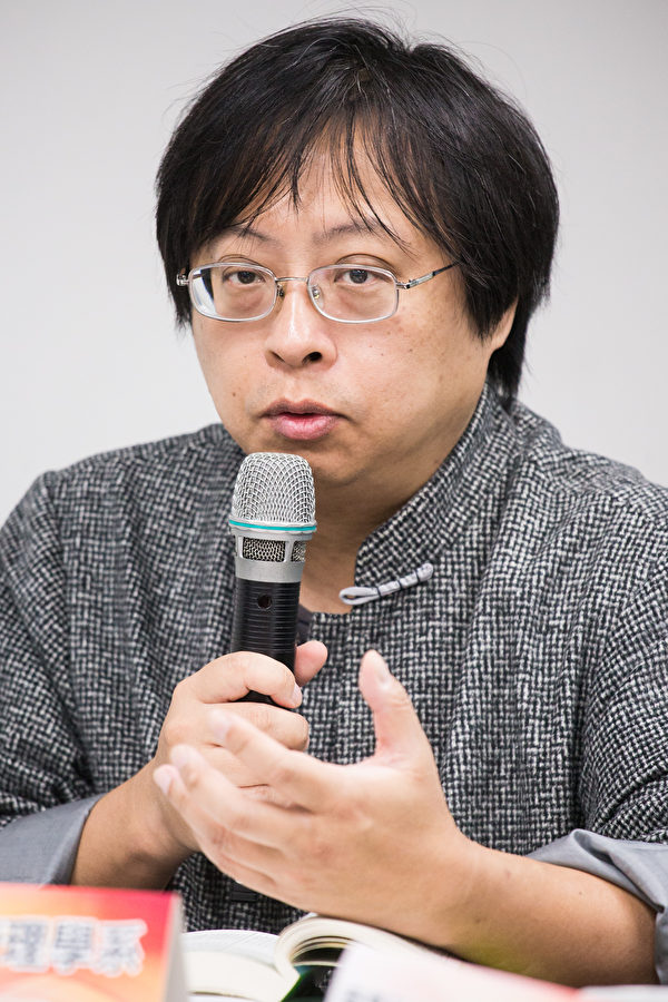 華人民主書院董事會主席曾建元。(大紀元資料照)