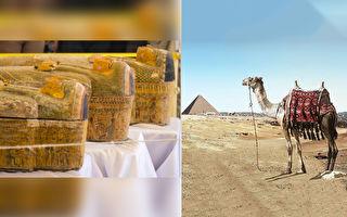 埃及新出土30具木乃伊 考古学家最爱这2具