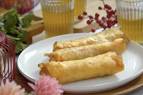 經典年菜料理 (3) ~宮廷點心 炸春捲