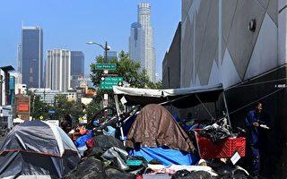 洛杉矶与联邦展开协商 游民问题有望解决