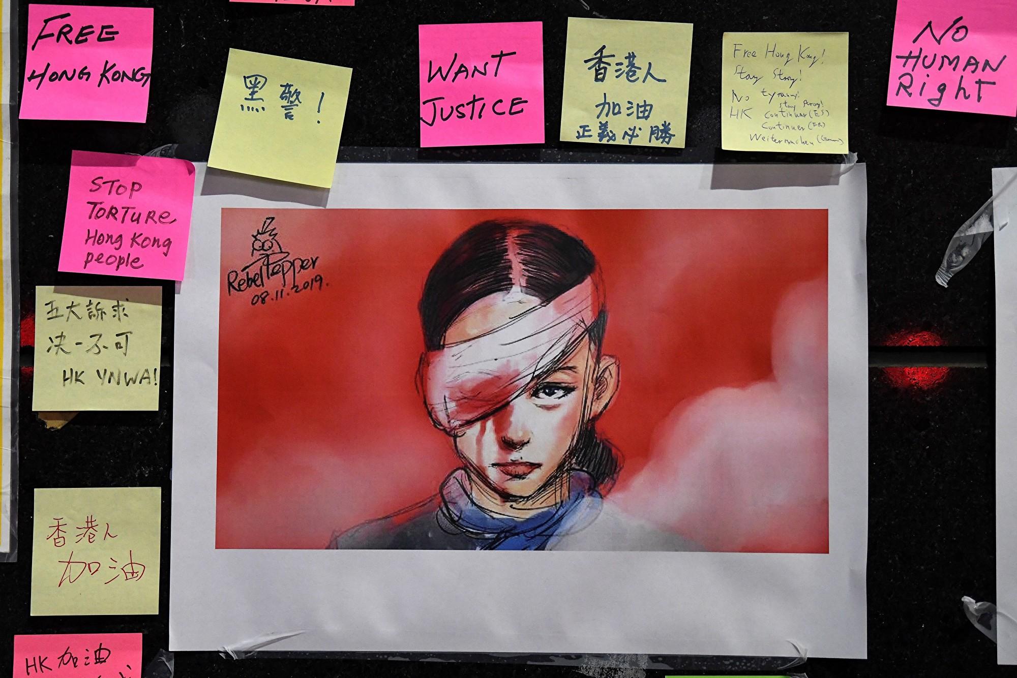 諷刺中共暴政 漫畫家獲奧斯卡中國人權獎