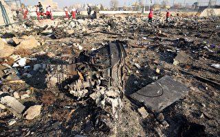 2020年1月8日凌晨,一架搭载176名乘客的乌克兰客机在伊朗首都德黑兰坠毁,机上所有人遇难。图为坠毁现场。(AFP via Getty Images)